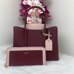 Kate Spade Margaux medium Satchel & Wallet